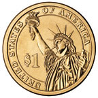 An image of the Statue of Liberty will appear on the back of each coin
