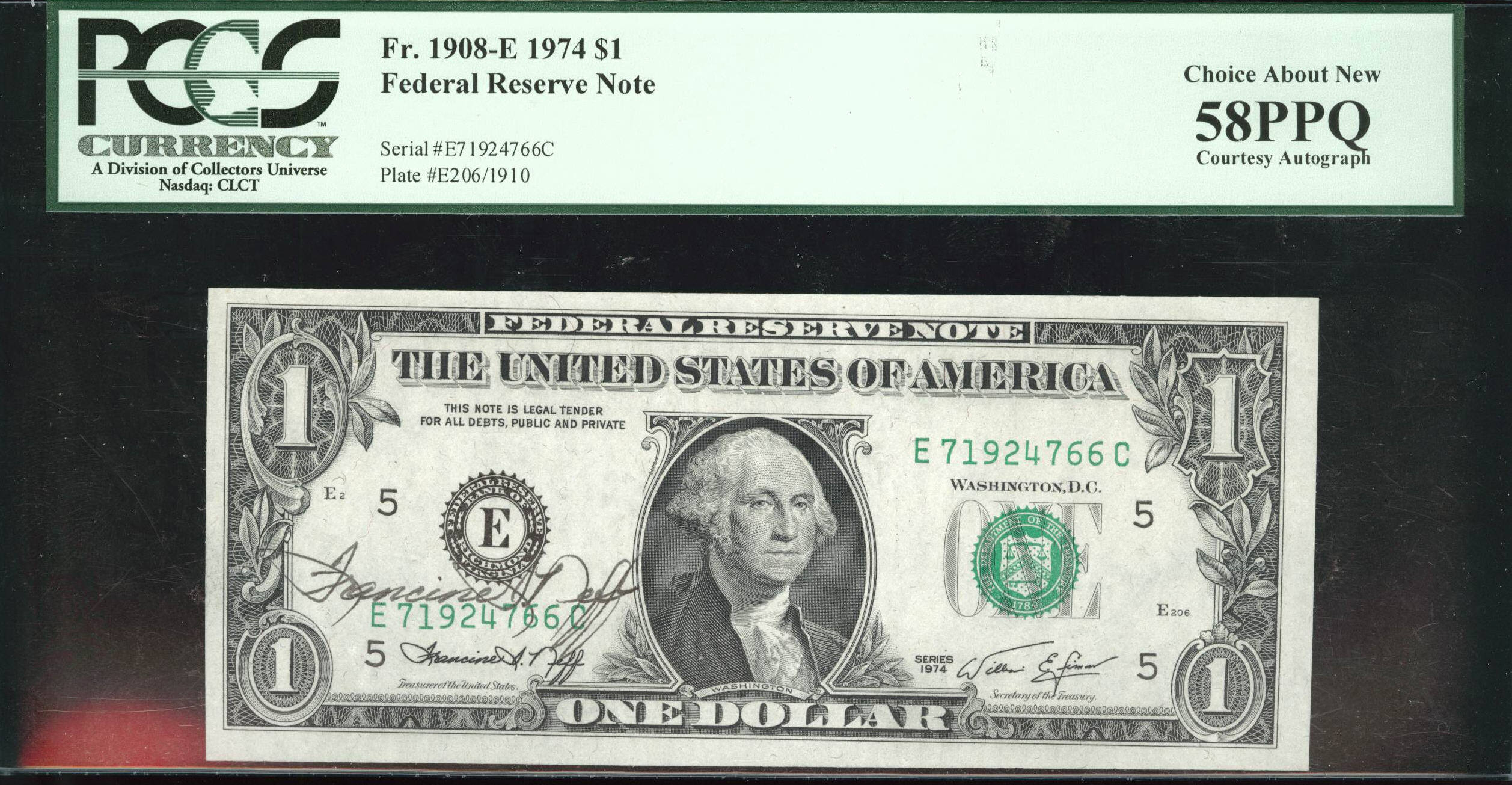 Fr 1935-G 1976 Two Dollar Note 2 Chicago PCGS Graded 64 PPQ Very Choice New Bill
