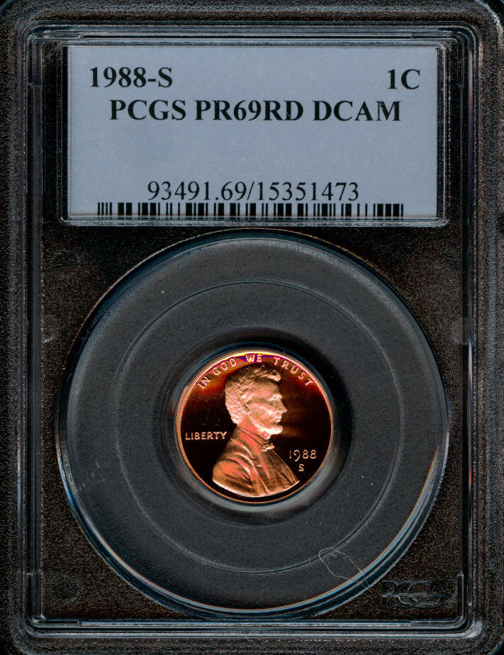 2nd page - Certified Lincoln Memorial Pennies