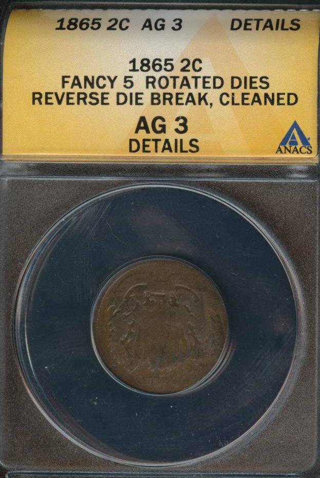 All Certified Coins - Error Broad Struck Off Center errored