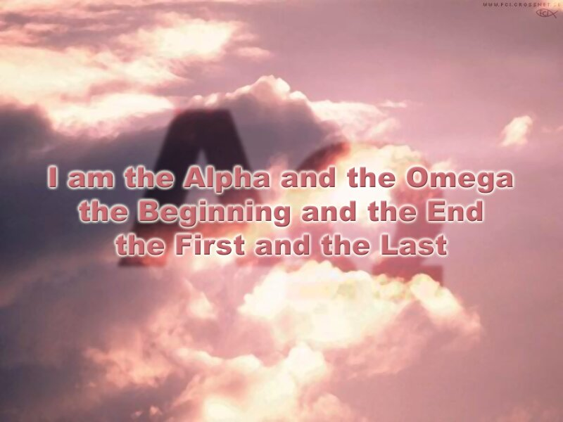 Bible Verse Art · I Am The Alpha And The Omega, The Beginning And The End,  ...